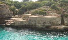 Cala'n Brut (Menorca, Spain) Costa, Menorca, Beach Vibes, Beach Wear, Far Away, Jewel, Spain, To Go, Around The Worlds