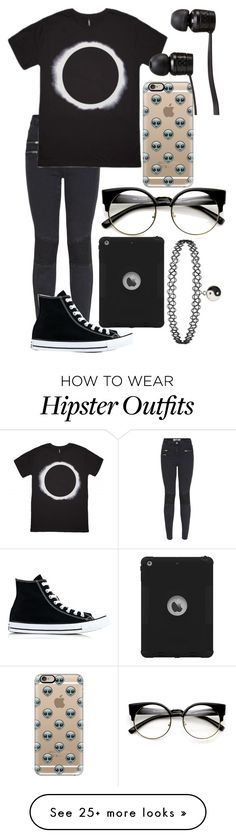"""Untitled #778"" by mriss-abbrie on Polyvore featuring New Look, Casetify, Converse and Vans"