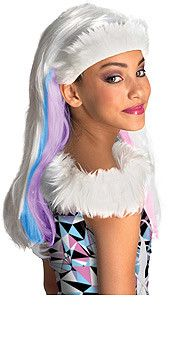 Monster High-Abbey Bominable Wig