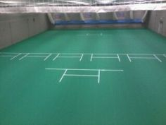 Northampton County Cricket Club - Sports Surfaces (UK) Ltd Uni-Turf was installed replacing an old Uni-Turf surface.  They came back for more!
