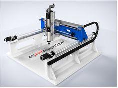 . . . CNC Portalfräse - 3D Drucker - traue dich!: CNC CONCRETE - Eine…