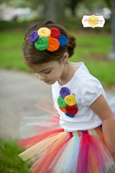 Rainbow party outfits