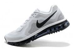 Winkel Nike Air Max 2014 Hardloopschoenen Dames Wit Zwart Bestellen