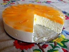 Beste Kuchen: Quarkkuchen ohne Eier und ohne Backen Best cakes: Quark cake without eggs and without baking Easy Vanilla Cake Recipe, Easy Cake Recipes, Sweet Recipes, Dessert Recipes, Simple Recipes, Summer Desserts, No Bake Desserts, Delicious Desserts, Czech Recipes