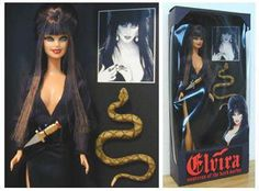 Elvira doll :D
