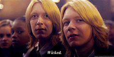 28 Reasons Fred And George Are The Best Characters In The Harry Potter Series. >> omg stop at the end i was crying
