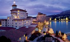 The Broadmoor Hotel, Colorado Springs, CO - what a great and luxurious place to spend a weekend.