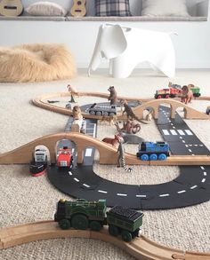 Did you know we have Waytoplay flexible road track sets and extensions? Made in … Did you know we have Waytoplay flexible road track sets and extensions? Made in Germany with child safe thin rubber. Play Spaces, Kid Spaces, Toddler Toys, Kids Toys, Montessori Playroom, Small World Play, Natural Toys, Toy Rooms, Creative Play