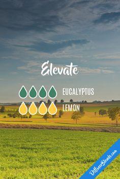 Elevate #Aromatherapy #Eucalyptus #Lemon