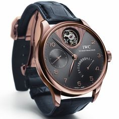 IWC Portuguese Tourbillon Mystere pic on Design You Trust