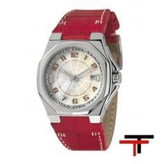Reloj Race Nacar Piel Rojo  http://www.tutunca.es/reloj-race-nacar-piel-rojo