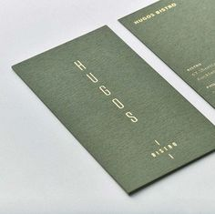Business card design By Hannah Stout