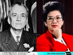 Philippine President Manuel L. Quezon and Philippine President Corazon Aquino both died on August 1. They are also related by four marriages. #kasaysayan #kamaganak #geni Her Brother, Filipino, Presidents, Marriage, Husband, Corazon Aquino, Valentines Day Weddings, Weddings, Mariage