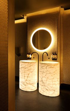 Bathroom @ Bond Lounge Bar (Australia), Nightclub | Restaurant & Bar Design Awards