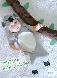 Koala Bear Baby Costume | Creating Really Awesome Fun Things -  Featured on #HomeMattersParty 101