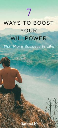 How to improve your willpower for more success in life! Learn to flex your willpower muscle with these self-improvement tips.