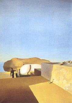 Landscape Near Figueras Salvador Dali | Salvador Dali's Most Famous Paintings