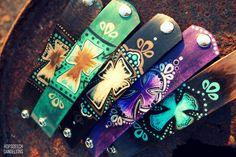 Cuffs by Hopscotch Dandelions https://www.facebook.com/HopscotchDandelions