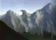 The domain of Arnheim by @artistmagritte #surrealism