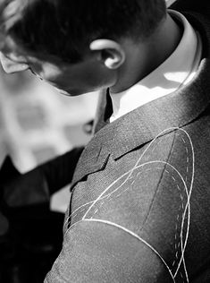 The Engineered Shoulder from Burberry Travel Tailoring creates a sharp sartorial structure while being super lightweight and fluid