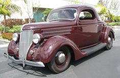Spud's Garage - 1936 Ford 3 Window Coupe