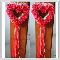 Export trade door decorated living room wall decorated with garlands wedding car decoration new home furnishings - Taobao flowers hanging doors