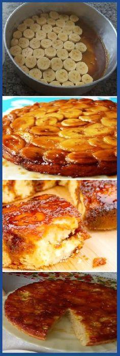 Torta de Plátano Madur