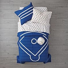 Sale ends soon. This baseball throw pillow is the perfect complement to our Sports Bedding or any baseball-themed bedroom. Baseball Bed, Baseball Quilt, Pro Baseball, Baseball Games, Baseball Jerseys, Baseball Buckets, Baseball Nursery, Baseball Live, Baseball Training