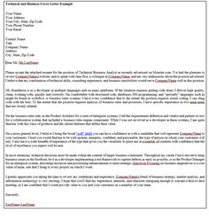 Cover Letter Sample  Professional Cover Letter
