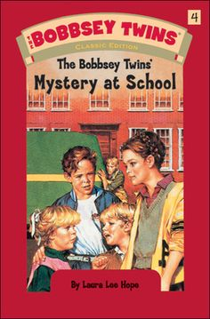The Bobbsey Twins books were the first that I checked out on my very own library card. Thanks Mrs. Nelson for recommending them. I still prefer mystery books!