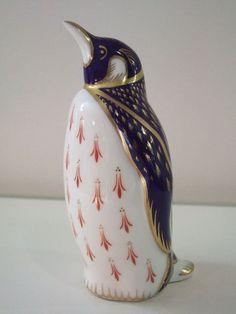 Royal Crown Derby Imari Penguin 1985 No Stopper - Artmosphere Antiques Battlesbridge Essex