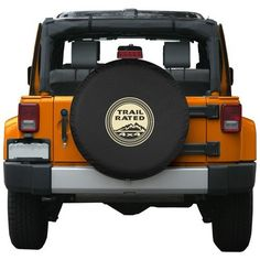 29-30″ Premium Jeep Tire Cover – Trail Rated Design – Fits Jeep Wrangler and Liberty - 29-30 Premium Jeep Tire Cover - Trail Rated Design - Fits Jeep Wrangler and Liberty
