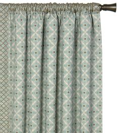 Arlo Ice Curtain Panel Right from Eastern Accents