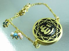 Butterfly Charm Allah Name Arabic Muslim Islamic Charm Bracelet -- Details can be found by clicking on the image.