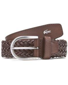 Lacoste Men's Leather Belt Men Accesories, Leather Accessories, Fashion Accessories, Leather Belts, Leather Men, Men's Belts, Braided Leather, Fashion Belts, Mens Fashion
