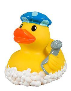 Rubber Duck with hand shower Bath Toys For Toddlers, Toys For Girls, Toddler Toys, Bath Toy Storage, Bath Toy Organization, Duck Memes, Baby Bath Toys, Kawaii Room, Bathroom Kids