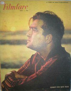"myluckyerror: ""Sunil Dutt for Filmfare, November 1963 "" Sunil Dutt, Vintage Bollywood, Passion, Film, Memories, Actors, Classic, Movie Posters, Magazine Covers"