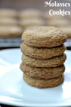 Crispy on the outside and soft on the inside, these Molasses cookies will literally melt in your mouth. They are a wonderful spiced cookie to add to your family favorites.