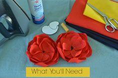 DIY Linen Flower Tutorial {Emerson Flower Hack}