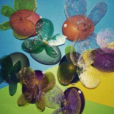 Easter Eggs, Butterfly, Fruit, Butterflies