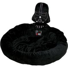 STAR WARS Darth Vader Pet Bed-The Force is strong with Poco!!! This friggin rocks!!!!!!!!
