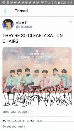 BTS what is wrong with this fandom.i luv it tho Seokjin, Namjoon, Hoseok, Taehyung, Bts Memes, K Pop, Bts Theory, Jimin, Bts World Tour