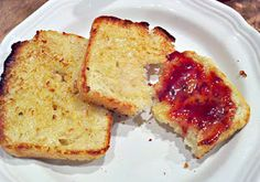 English Muffin Bread. Cheaper and yummier looking then store bought english muffins.