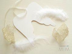 Ma Petite Maison: DIY Angel Wings Ornaments