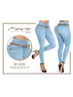 Vaquero Levanta Cola 11103 Jeans, Polyvore, Fashion, Light Blue Color, Blue Nails, Cowboys, Pockets, Moda, La Mode