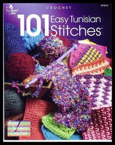 101 EASY TUNISIAN STITCHES pg 0 FC by f_yu28, via Flickr