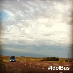 The #IdolBus is making its way from Montana to Wyoming. Have u seen it on the road? We'll see you in Casper tomorrow! via @American Idol
