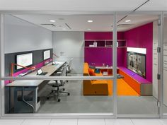 """Facilitators of Innovation"", featuring @Steelcase V.I.A., Turnstone and MediaScape Virtual PUCK #office #design #collaboration #furniture #technology"