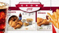 Apresentação para fraqueados KFC da américa latina
