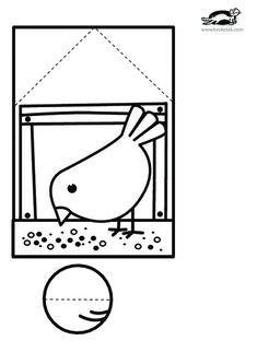 printables for kids - Paper Crafts 🧶 Paper Crafts For Kids, Diy For Kids, Diy And Crafts, Arts And Crafts, Bird Crafts, Easter Crafts, Quiet Time Activities, Winter Kids, Summer Crafts
